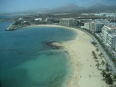 Arrecife: Playa del Reducto (vanuit Stars Bar - Gran Hotel)