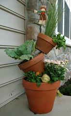 Stacked Container Garden