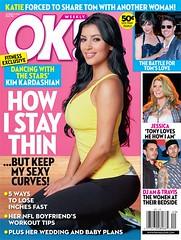 kim kardashian in ok magazine