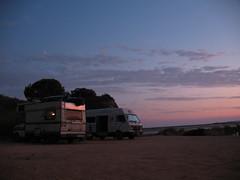 Portugal (HarmvVugt) Tags: trip sunset portugal camper trippin lt windsurf lt35 vergroten