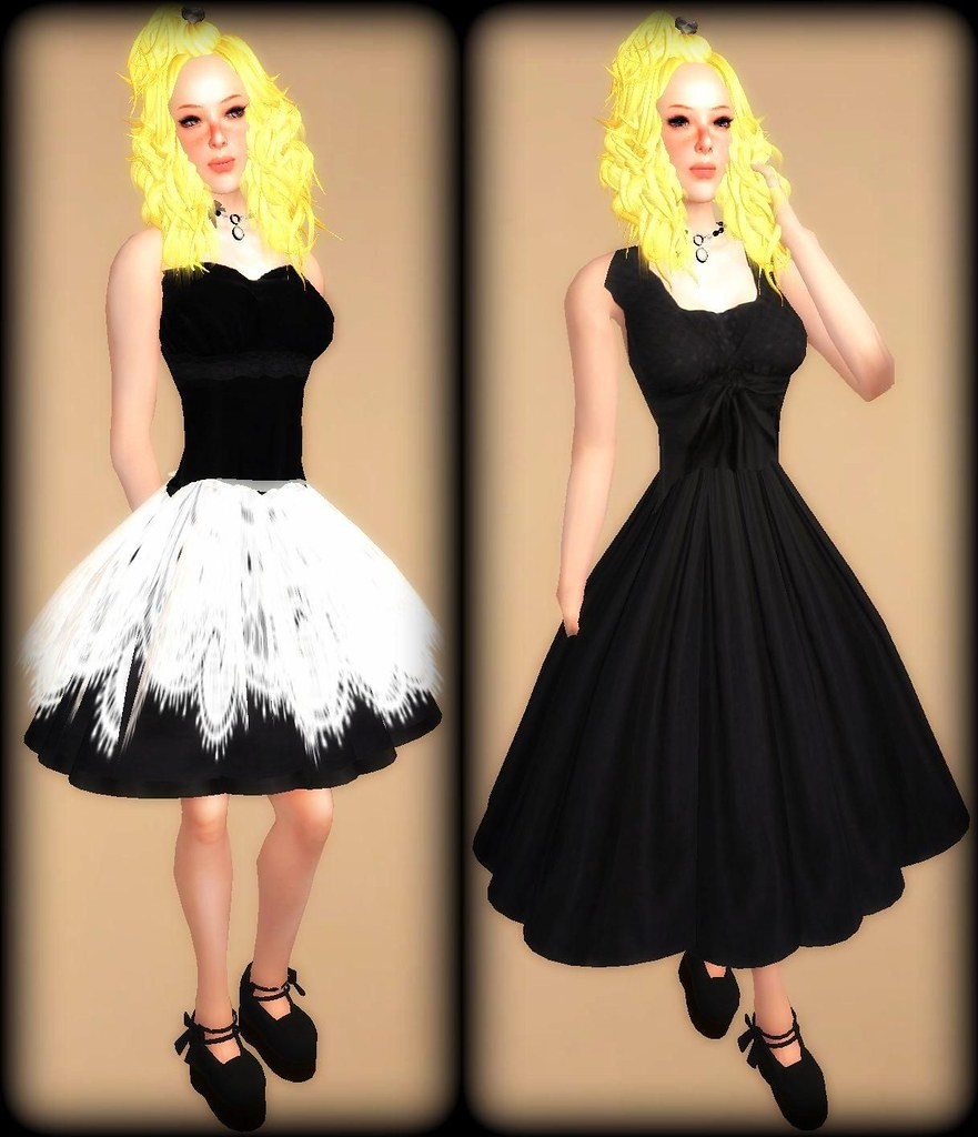 B.R 0L dresses