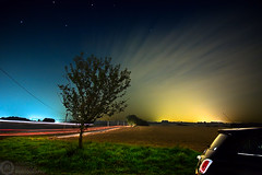 (Andreas Reinhold) Tags: road longexposure tree night dark stars fiat country 500 bergischesland fiat500 mettmann andreasreinhold nf500
