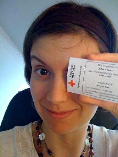 red cross cpr certification