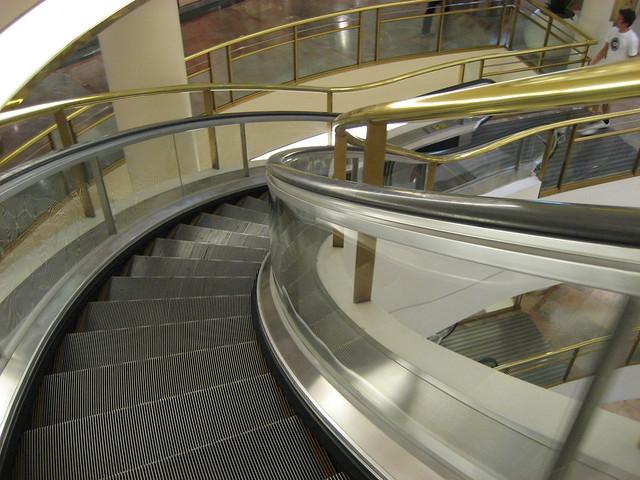 Westfield escalator