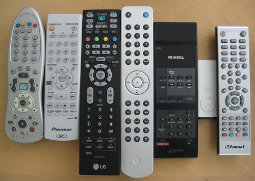 Who has this many remotes?
