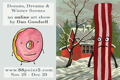 Donuts, Dreams and Winter Scenes