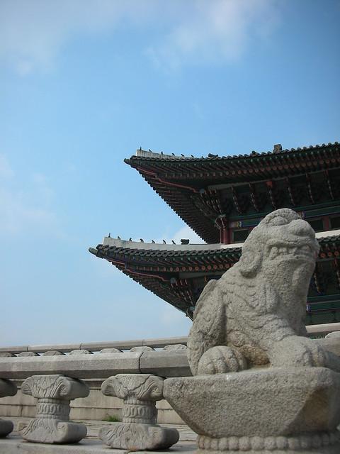 Seoul 17 - Gyeongbokgung palace by Ben Beiske
