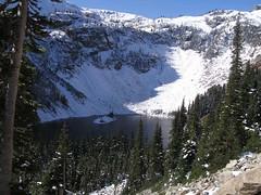 Lake Ann below us