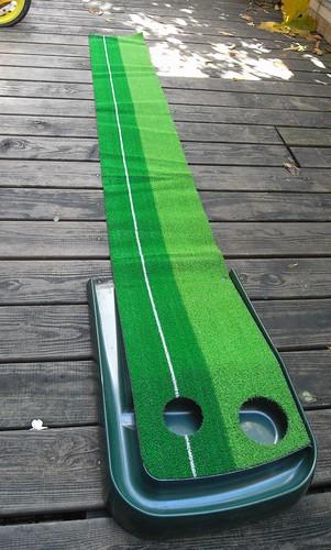 你拍攝的 推杆練習草坪2。