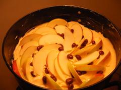 baking an apple cake / Apfelkuchen