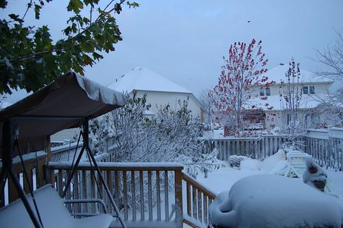 10月份雪