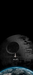 oh sh*t (Pixel Fantasy) Tags: starwars earth space nasa spaceshuttle deathstar