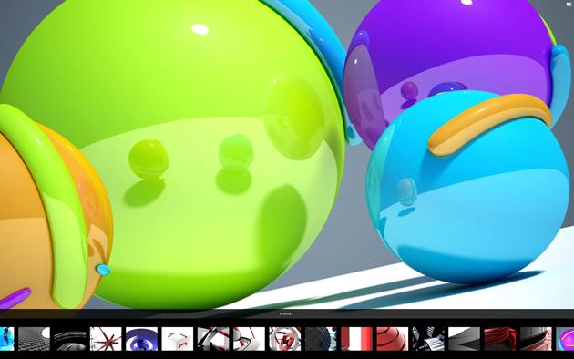 Fullscreen XML gallery V2