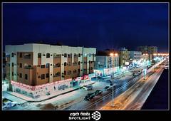 Street success   (A.Alwosaibie) Tags: street light night photo nikon shot spot saudi 1855mm success ksa d60    alhasa