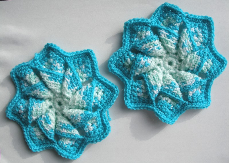 Crochet star/flowers