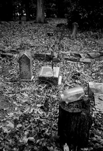 Abandoned Oberlin Cemetery