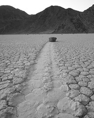 Racetrack Playa, Death Valley, CA. March 23, 2007 (Robert Pearce Photography) Tags: deathvalleysunriserockdesertracetrackplayacalfornianationalparksky robertpearce