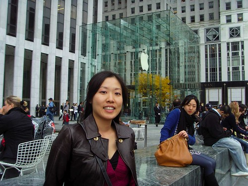 Masami @ the Apple store in New York City