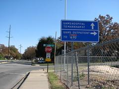 UAMS 630 (US 71) Tags: littlerock arkansas roadsigns highwaysigns i630 interstate630