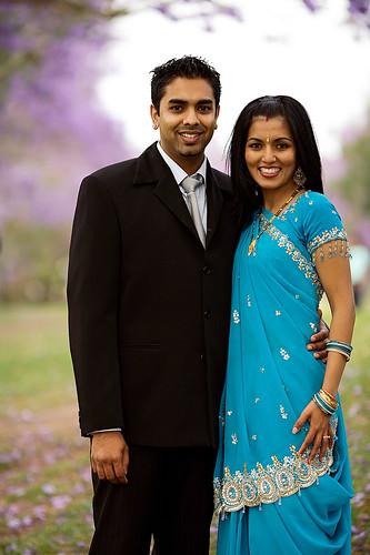 Vidya and Abhi, 01/11/08