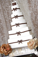Jennifer's Cake (Josef's Vienna Bakery) Tags: wedding food square dessert marisa weddingcake nevada tahoe bakery reno sparks hess iphone fondant josefs marisahess