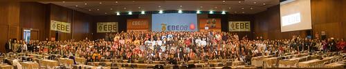 Los asistentes al EBE08. ¿Donde está Wally?