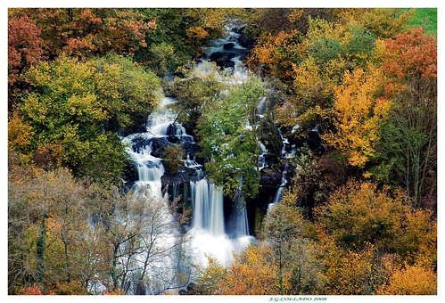 cascadas del Gándara
