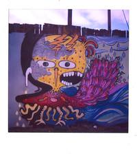 ufo disaster strikes (avoid * diova) Tags: bird chicken love water polaroid graffiti alien feathers ufo disaster billy lightning