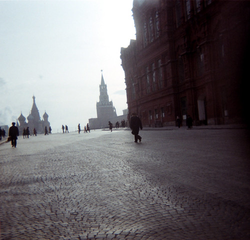 Going up to the Red Square