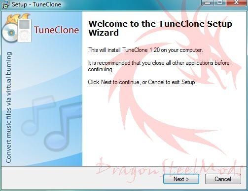 TuneClone setup