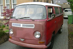 1969 red bay (Dave S Campbell) Tags: california vw volkswagen bay camper imports microbus westfalia splitty route9autos