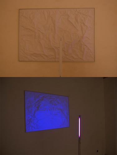 """Installazione - """"Marco Testini"""" - progetto Nulla (Bluorg,Bari)"""