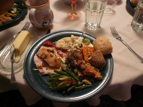 Plate 2: Meat and Sides