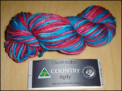Cleckheaton Country 8 ply - hand dyed