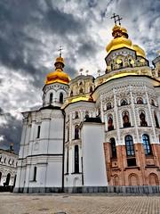 Kiev-Pechersk Lavra 16 (Grete Howard) Tags: cathedral religion ukraine caves monks christianity catacombs kiev kievpechersklavra cavescomplex