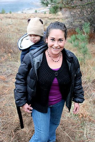 Shalom layered with child