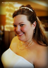 a happy bride, (meghuff) Tags: wedding august iowa reception picnik mhp ejwedding