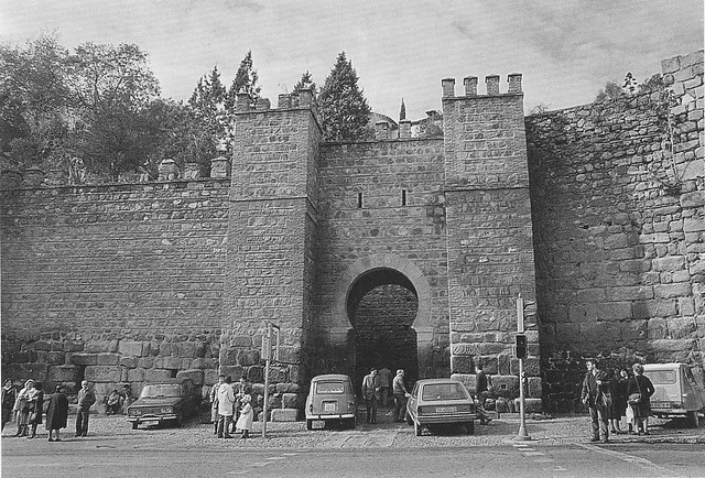 Puerta de Alcántara en los años 80