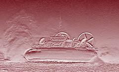 Hovercraft photoshopped (Paul @ Doverpast.co.uk) Tags: photoshop wight hovercraft bht130 hovertravel solentexpressgosportportsmouthsouthsearydeisle
