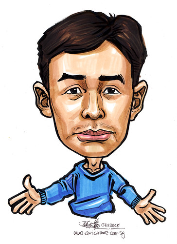 Caricature for Singapore Armed Forces 6