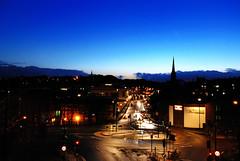Durham city dawn