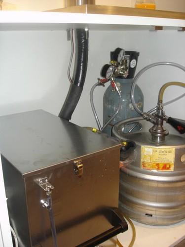 Les dessous d'une Tireuse à bière