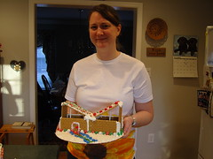 (dreamsmall) Tags: self christina ashley tommy laurie gingerbreadhouses december2007