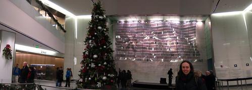 Christmas Tree Panorama: American History Museum