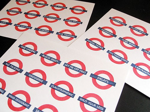 Tube Mood Swing Stickers