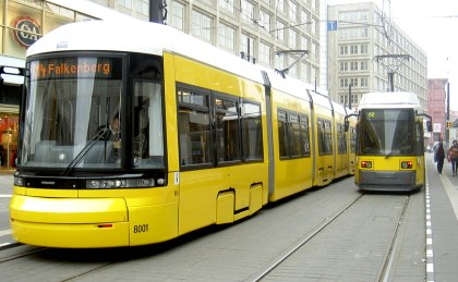 Tram Bombardier Flexity Berlin