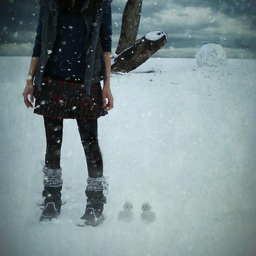 52|365 ||| it snowed.. by .bella.