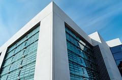 Hospitable parking (claustral) Tags: building glass modern hospital skne sweden carpark multistory helsingborg sjukhus lx3