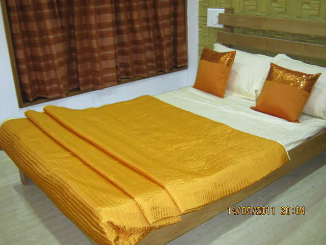 "Bedroom in a 3 BHK ""Show"" Flat in Om Developers' Tropica, Blessed Township at Ravet PCMC, Pune 412 101"