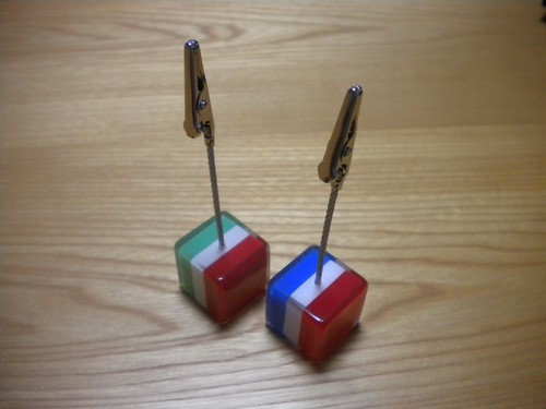 Card Stand for France and Italia